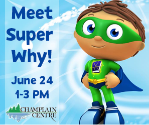 Meet Super Why! June 24, 1-3pm