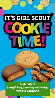 Girl Scout Cookie Ad