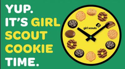 Girl Scout Cookie time 726x400