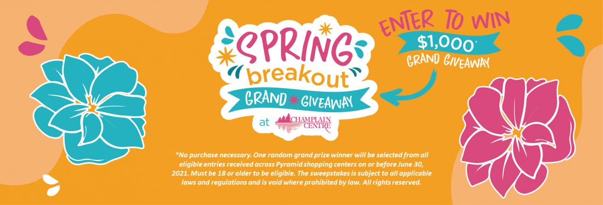 2021 03 25 Springbreakout landing page